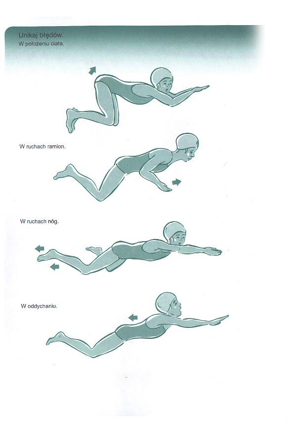Lekcje pływania stylem klasycznym. Technika pływania żabką.