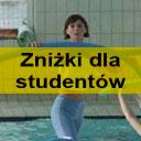 Cennik Studencki Aqua Aerobicu na małym basenie